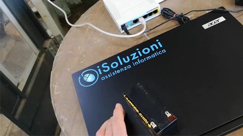 sistema a batteria